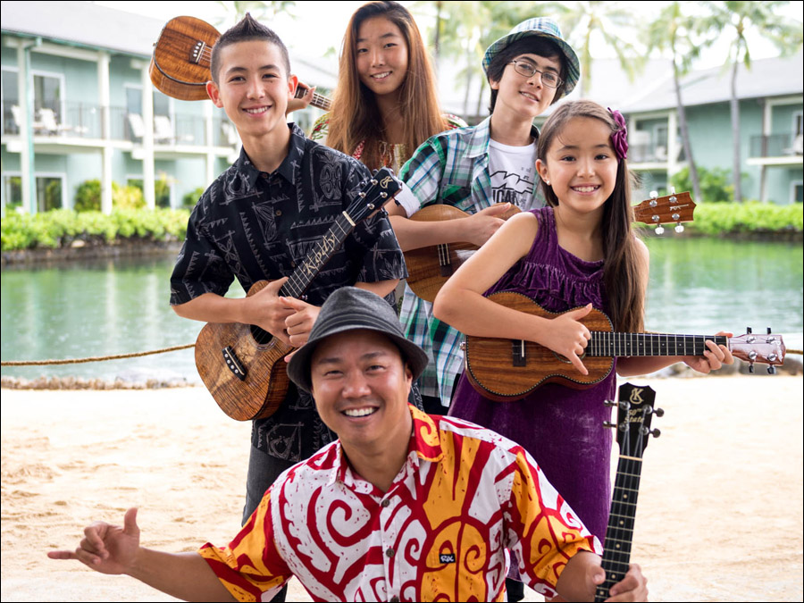 Jody Kamisato and the Ukulele Super Kids