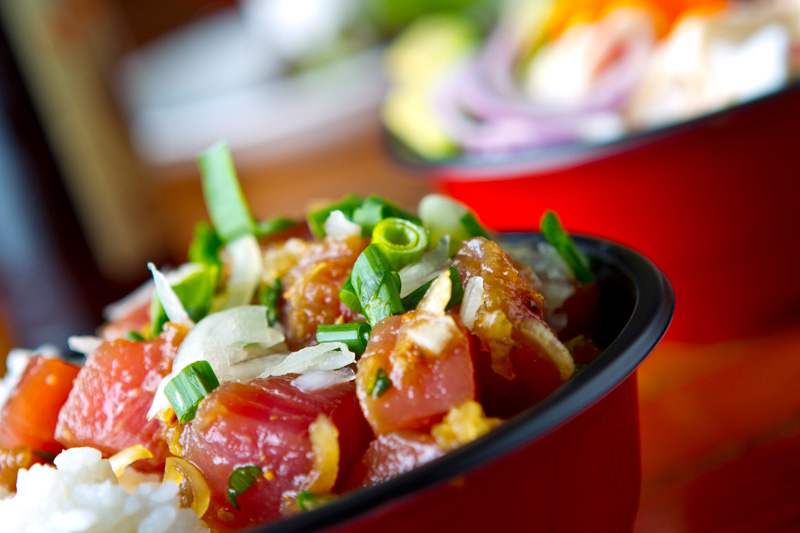 Paina Cafe Poke Bowl
