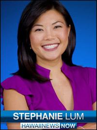 Hawaii News Now's Stephanie Lum
